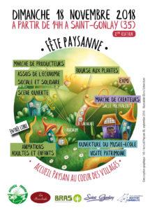 Accueil Paysan au coeur des villages le 18 novembre 2018 à Saint-Gonlay @ Saint Gonlay